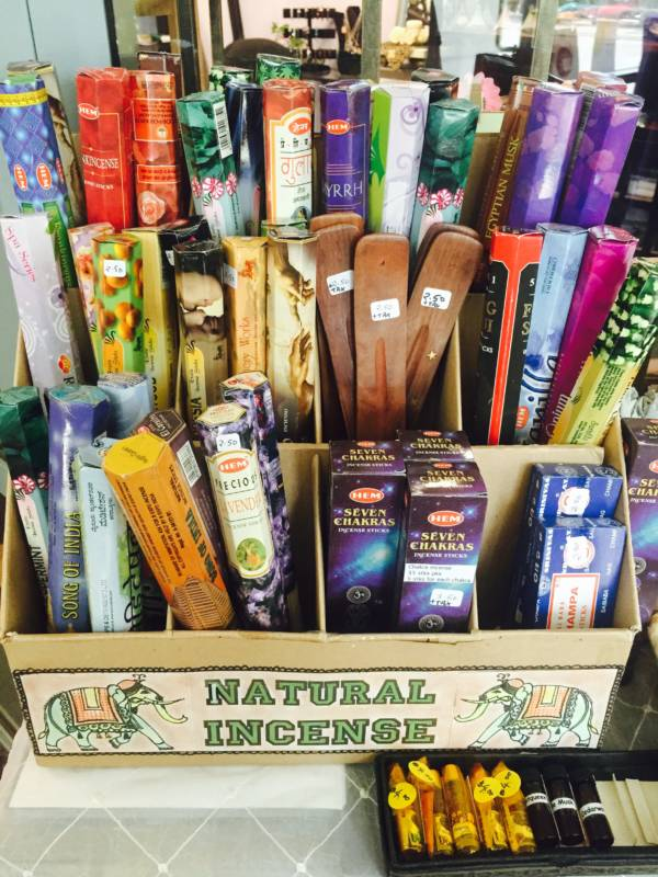 Gift Shop - Incense